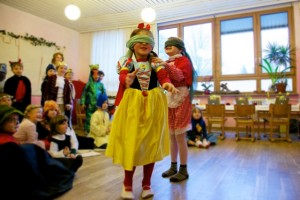 Märchen Fasching 1. Klasse